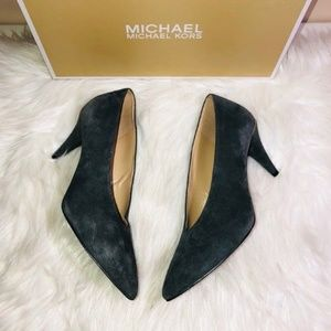 Michael Kors Lizzie Mid Pumps Grey 6